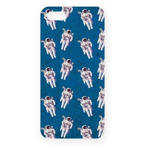 Купить Чехол Mitya Veselkov IP5.МITYA-111 для Apple iPhone 5/iPhone 5S/iPhone SE космонавты