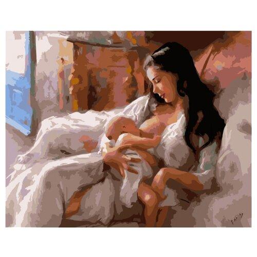 Купить Белоснежка Картина по номерам Материнство 40х50 см (063-CG), Картины по номерам и контурам