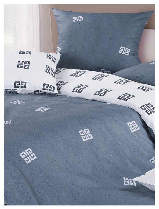 Постельное белье 1.5-спальное ECOTEX КГ1/Коломбо сатин