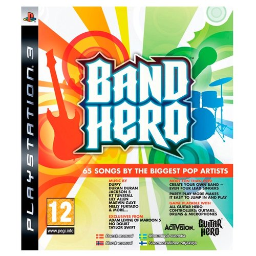 Игра для PlayStation 3 Band Hero