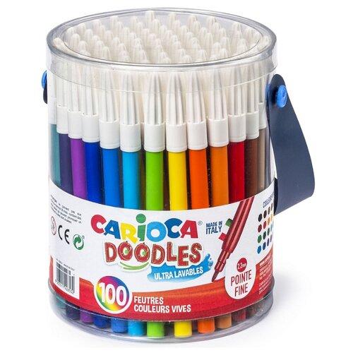 Купить Carioca Фломастеры Doodles 100 шт. (40043)