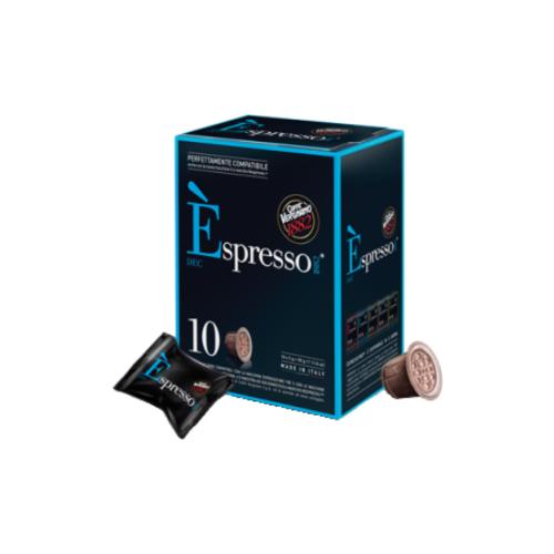 Фото - Кофе в капсулах Caffe Vergnano 1982 Espresso Decaf, 10 капс. кофе молотый caffe vergnano 1882 espresso casa 250 г