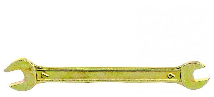 Сибртех Ключ рожковый 6х7 мм 14301