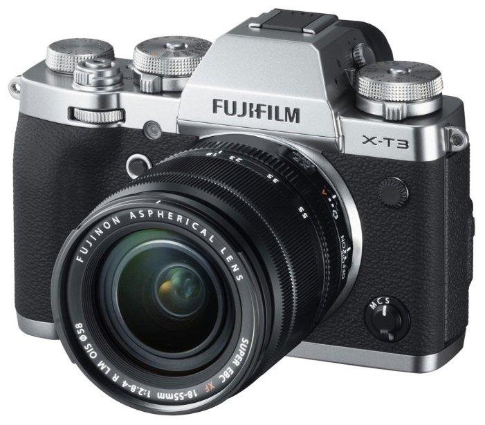 Fujifilm Фотоаппарат со сменной оптикой Fujifilm X-T3 Kit