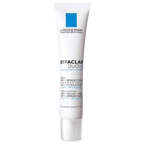 La Roche-Posay Корректирующий крем-гель для проблемной кожи Effaclar Duo(+), 40 мл la roche posay крем effaclar h мультивосстанавливающий успокаивающий увлажняющий эфаклар н 40 мл