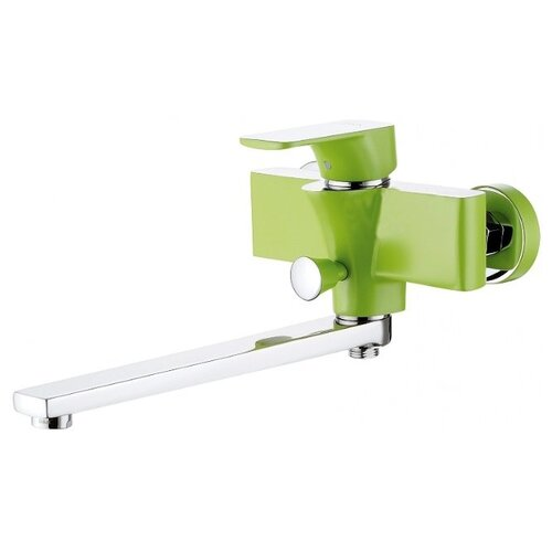 Душевой набор (гарнитур) D&K DA143331x зеленый/хром душевой набор гарнитур argo 101