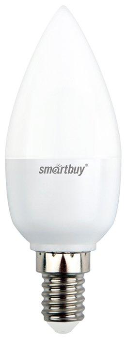 Лампа светодиодная SmartBuy 4690626039933 E14, C37, 8.5Вт, 4000К