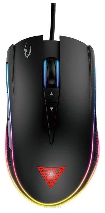 Мышь GAMDIAS ZEUS Optical M1 Black USB
