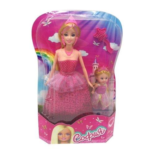 Фото - Кукла Карапуз Принцесса София с дочерью, 29 см, 66341R-S-BB кукла карапуз софия повар 29 см
