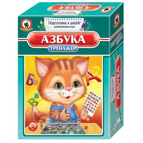 Купить Настольная игра Русский стиль Тренажёр Азбука, Настольные игры