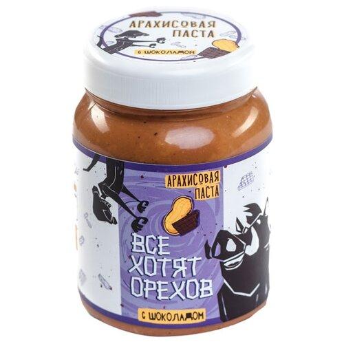 Все Хотят Орехов Арахисовая паста с шоколадом, 330 г
