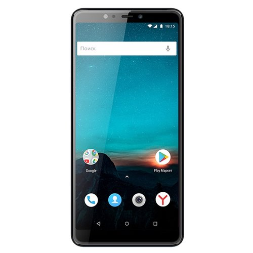 Смартфон BQ 6016L Mercury черный смартфон