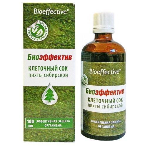 Bioeffective Клеточный сок пихты сибирской, 100 мл