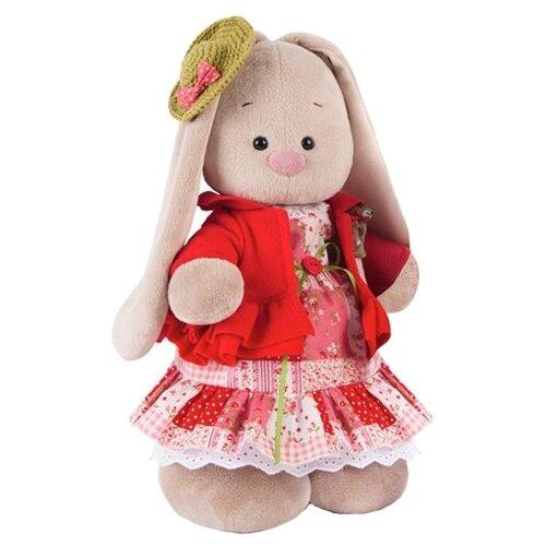 Купить Мягкая игрушка Зайка Ми Маково-красный 32 см, Мягкие игрушки