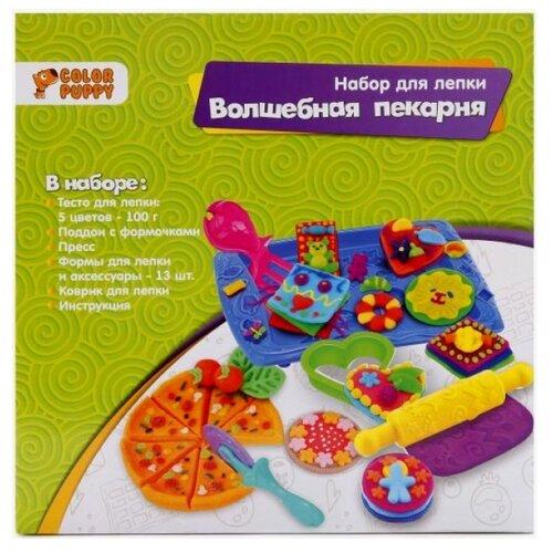 Пластилин Color Puppy Волшебная пекарня (637008) елена маслякова твоя пекарня
