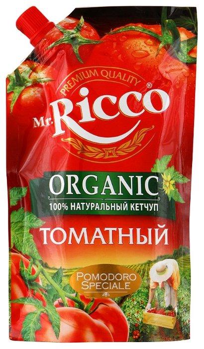 Кетчуп Mr.Ricco Томатный organiс, дой-пак 350 г