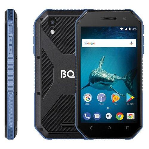Смартфон BQ 4077 Shark Mini темно-синий смартфон bq bq 5002g fun red