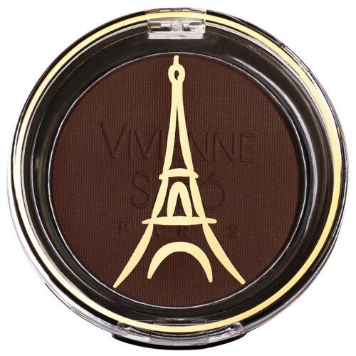 Vivienne Sabo Тени для век устойчивые моно Petits Jeux 116 темно-коричневый матовый