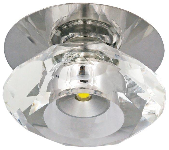 Встраиваемый светильник De Fran FT 810 LED, хром
