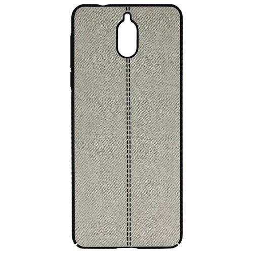 Чехол Volare Rosso Jeans для Nokia 3.1 серый