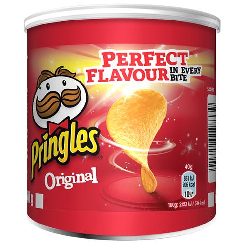 Чипсы Pringles картофельные Original, 40 г чипсы pringles картофельные crab 70 г