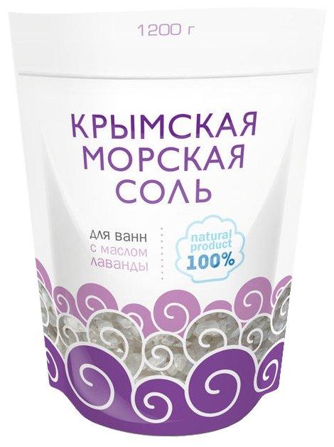 Greenfield Крымская морская соль Лаванда, 1.2 кг