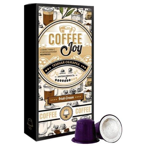 Кофе в капсулах Coffee Joy Irish Cream, 10 капс. чай в капсулах greenfield raspberry cream 10 капс
