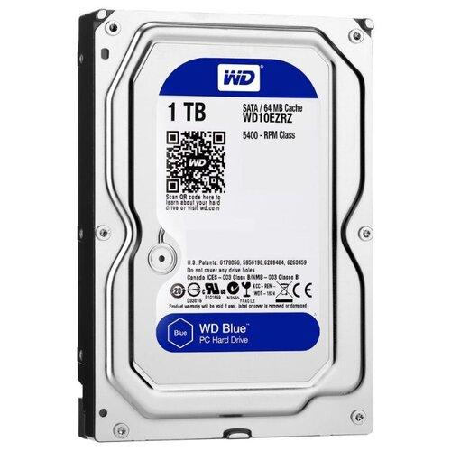 Купить Жесткий диск Western Digital WD Blue Desktop 1 TB (WD10EZRZ)