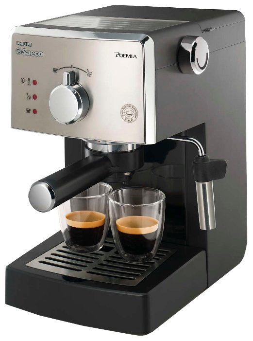 Кофеварка рожковая Saeco HD8325 Poemia