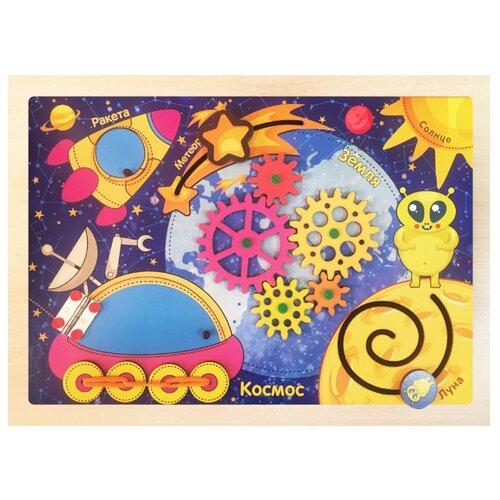 Бизиборд Мастер игрушек Космос фиолетовый/желтый чернильница can bci 6y