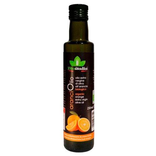Bioitalia Масло оливковое extra virgin с апельсином 0.25 лМасло растительное<br>