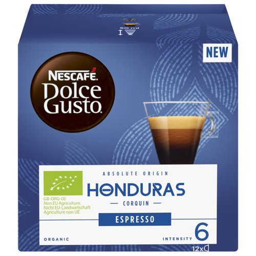 Кофе в капсулах Nescafe Dolce Gusto Honduras (12 капс.)Капсулы для кофемашин<br>