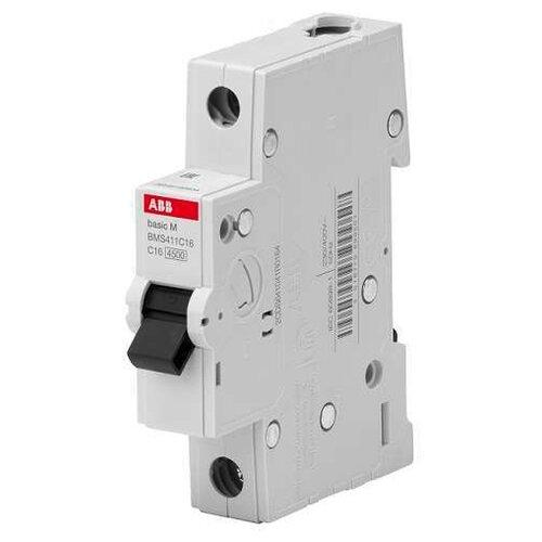 Автоматический выключатель ABB Basic M 1P (C) 4,5kA 16 ААвтоматические выключатели<br>