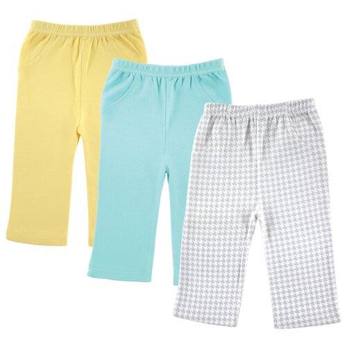 Брюки Luvable Friends размер Small, желтый/серыйБрюки и шорты<br>
