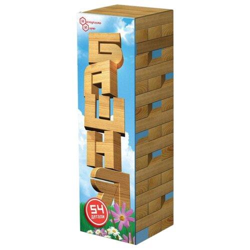Купить Настольная игра Нескучные игры Башня 54 дет, Настольные игры