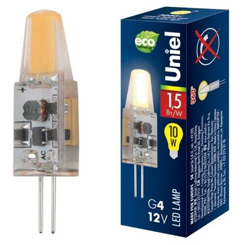 Лампа светодиодная Uniel UL-00000183, G4, JC, 1.5Вт