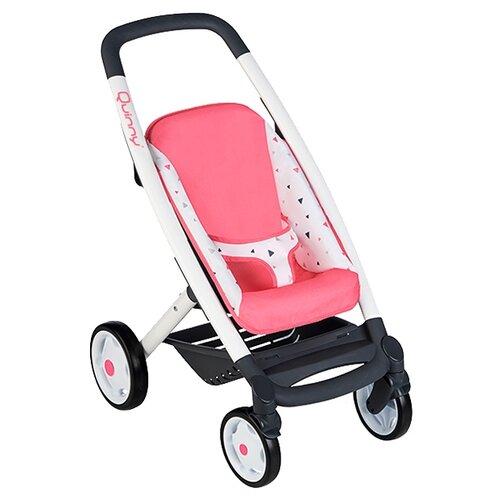 Купить Коляска-трансформер Smoby MC&Quinny 253198 розовый/белый/рисунок, Коляски для кукол