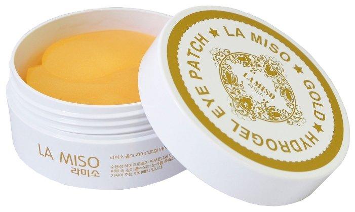 La Miso Gold Hydrogel Eye Patch Гидрогелевая маска с частицами золота для кожи вокруг глаз
