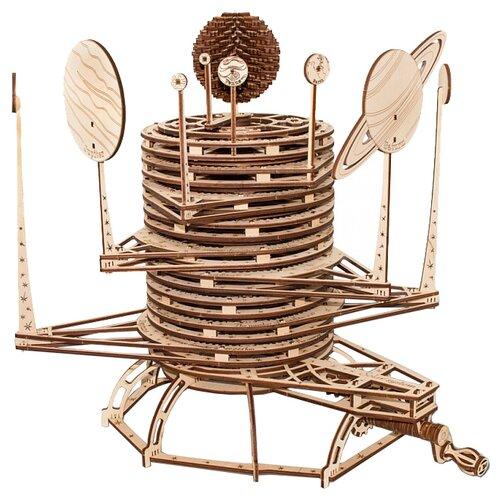 Сборная модель Eco Wood Art Планетарий брелок бижутерный eco wood art