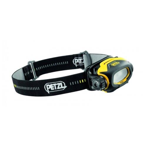 Налобный фонарь Petzl Pixa 1 черный/желтый крюк скальный petzl petzl v conique 11 см 11cm