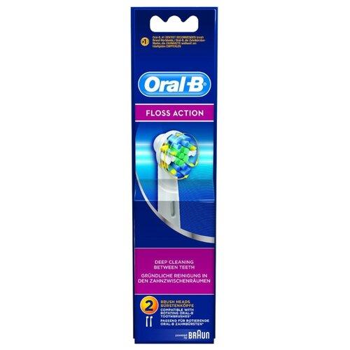 Набор насадок Oral-B FlossAction EB 25-2, белый, 2 шт