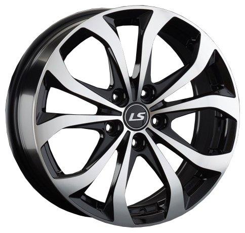 Колесный диск LS Wheels LS843 7x17/5x114.3 D67.1 ET45 BKF
