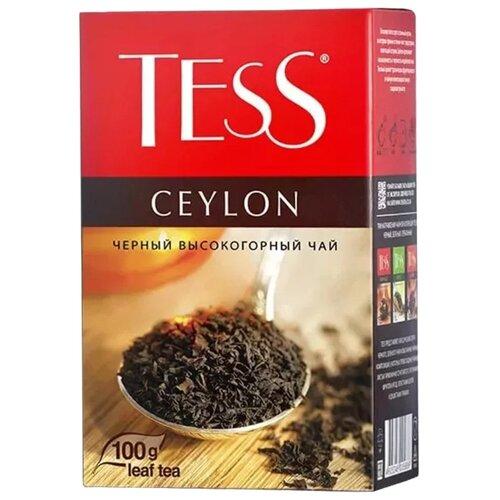 Чай черный Tess Ceylon, 100 г