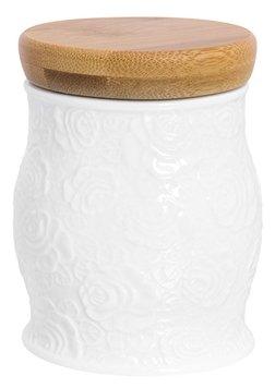 """Elan gallery Банка для сыпучих продуктов """"Белые розы"""" 350 мл"""