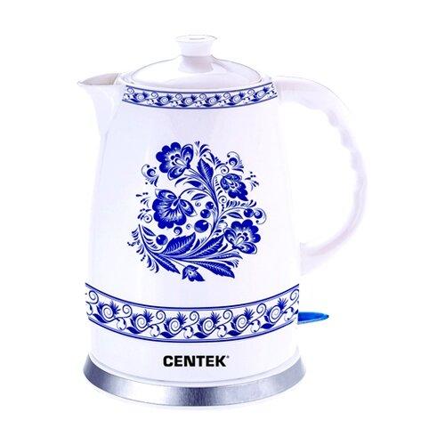 Чайник CENTEK CT-1058, white электрический чайник centek ct 1078
