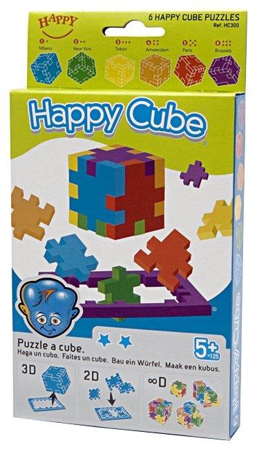 Набор головоломок Happy Cube Хэппи куб (НС300/40) 6 шт.