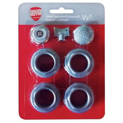Комплект аксессуаров Royal Thermo 1/2 Silver SatinАксессуары для радиаторов<br>