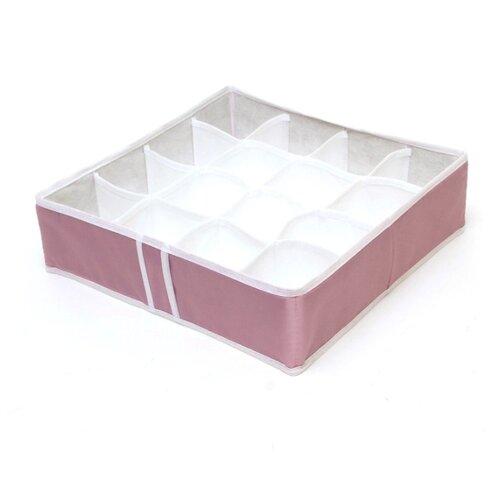 HOMSU Органайзер на 16 ячеек Capri розовый/белый органайзер на 6 ячеек white homsu органайзер на 6 ячеек white