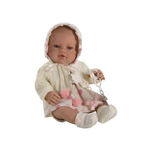 Пупс Munecas Berbesa новорожденный, 42 см, 5112Куклы и пупсы<br>