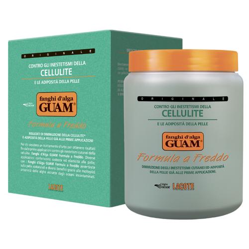 Купить Guam маска Fanghi D'alga Formula a Freddo антицеллюлитная с охлаждающим эффектом 1000 г